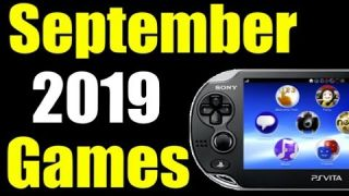 Upcoming New PS Vita Releases | September 2019