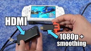 Sony PSP w/HDMI + Upscaling & anti-aliasing to HDTV