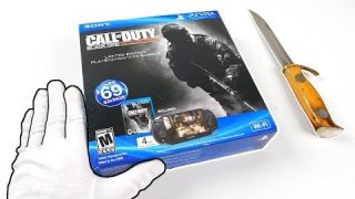 """PlayStation Vita """"BLACK OPS DECLASSIFIED"""" Console Unboxing! (PS Vita Limited Edition)"""