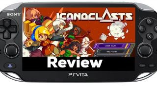Iconoclasts Review PS Vita (physical coming to PSVita soon from Limited Run Games)