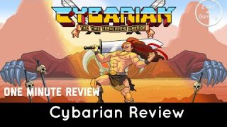 Cybrarian Review - PS Vita (also on Nintendo Switch and PS4) - One minute reviews