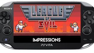 League of Evil PS Vita Review Impressions ( PSVita )