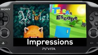 Waking Violet and TETRA's Escape PS Vita Review Impressions (PSVita)
