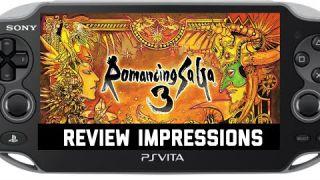 Romancing Saga 3 PSVita Review Impressions