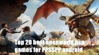 Top 20 best openworld psp games 2017 [PPSSPP supported]