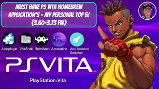Must Have PS Vita Homebrew Applications - My Personal Top 5! (3.60-3.73 FW) #PSVita #HENkaku #Vita