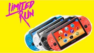Limited Run & PS Vita's Final August Release