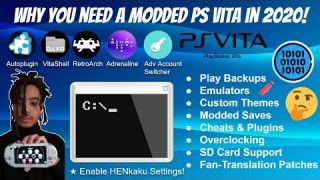 Why You Need A Modded PS Vita/PSTV In 2020! - Emulation, Homebrew, Backups, Themes, & More! #PSVita