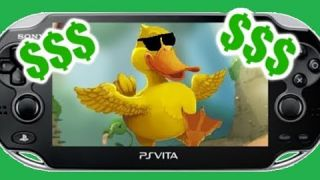 Ducks Are a Thing On The PS Vita?